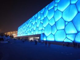 Der Water Cube in Peking
