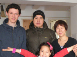 Gastfamilie in Peking